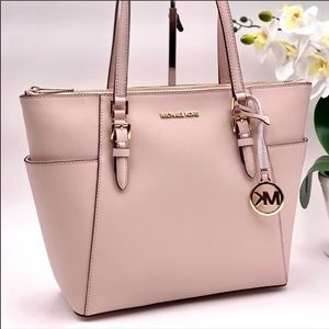 Michael Kors Tote Shoulder Bag Pink